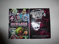 Monster High 4,Back and Deader Than Ever,Lisi Harrison 2012 HBDJ 1st Ed.+Jokes