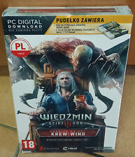 Wiedzmin 3 III Krew i Wino Dodatek PC The Witcher 3 Blood and Wine BOX NEU OVP