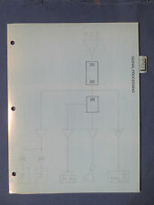 ALTEC PREAMP LIMITER FEEDBACK SUPRESSOR NOISE TRACKER EQ 1986 DEALER SPEC SHEET