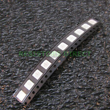 50x RGB 5050 SMD LED PLCC-6 6Pin 3 Chip 5mm Red Green Blue 6 Pin US Seller Z42