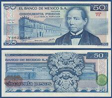 MEXIKO / MEXICO 50 Pesos  1978  UNC  P.67 a