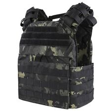 Condor Outdoor Cyclone Lightweight Tactical Armor Plate Carrier Black Multicam