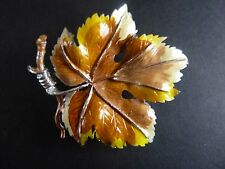 beautiful brooch from exquisite signed  vintage  vine large
