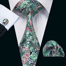 SN-1232 Men's new arrival stylish tie set necktie cufflinks hanky free shipping
