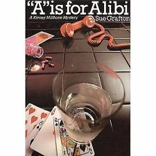 "Sue Grafton ""A"" is for Alibi - Hardcover Kinsey Millhone Mystery 1982 NO DJ"