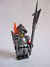 Lego Custom CITY WATCH Minifigure with Custom Weapons and Armor Medieval Castle
