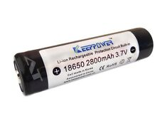 Keeppower 18650 - 2800mAh, 3,7V Li-ion Akku protected