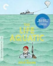 CRITERION COLLECTION: THE LIFE AQUATIC - BLU RAY - Region A - Sealed