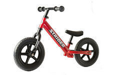 Strider Classic Balance Bike 12'' Kids Bicycle Bmx RED Free Shipping