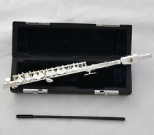 Sale!!! Quality JINBAO Silver Plated C Tone Piccolo Flute With Case Headjoint