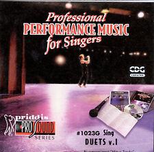 You Can Sing Duets Volume 1, Sing Duets, New Karaoke