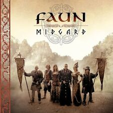 FAUN - MIDGARD (LIMITED DELUXE EDITION )   CD NEW+