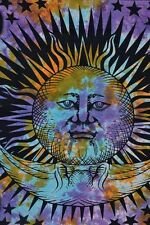 Psychedelic Sun Moon Tapestries Meditation Tapestry Boho Throw Large Wall Art