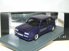 Neo Scale Models 45825, VW Golf I Rieger GTO, 1980, blau, 1/43, Volkswagen