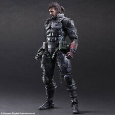SQUARE ENIX PLAY ARTS Metal Gear Solid Venom Snake Sneaking Suit Action Figure
