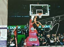 DeMar Derozan Signed 11x14 in person. JSA CERTIFIED
