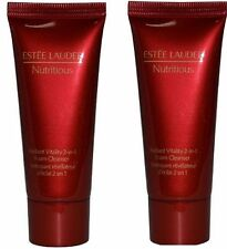 Estee Lauder Nutritious Radiant Vitality 2-in-1 Foam Cleanser 2x30ml RRP £29.99.