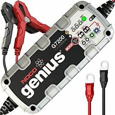 UltraSafe Smart Battery Charger NOCO Genius G7200UK 12V/24V 7.2A