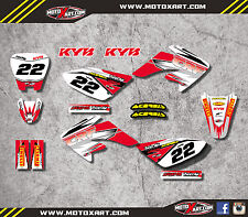Honda CRF 100 - 2004 / 2010 SHOCKWAVE style graphics kit / stickers / decals
