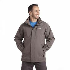 Regatta Northfield 3in1 Mens Waterproof Isotex 10,000 Hooded Jacket Grey Size S