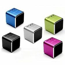 USB Portable Music Angel Player Mini Speaker For PC MP3/4 Micro SD/TF Port color