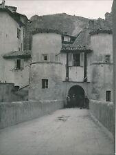 ENTREVAUX c. 1935 - Citée Médiévale Fortifiée Alpes-de-Haute-Provence - Div 4297