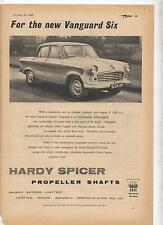 Hardy Spicer Standard Vanguard Original Advertisement removed from a magazine