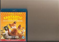 FANTASTIC MR FOX BLURAY / BLU RAY GEORGE CLOONEY BASED ON ROALD DAHL BOOK