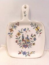 Crooksville Dairy Maid Handled Serving Platter / Wall Hanging