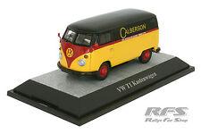VW T1 Kastenwagen - CALBERSON - schwarz / rot / gelb - 1:43 PC 13803