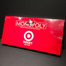 TARGET MONOPOLY red box exclusive 2007 sealed *dent* new pieces