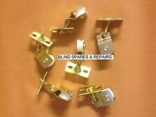 10 x Brass Plated Pulleys for Roman/Pleated/Skylight Roof Blinds *FREE POSTAGE*