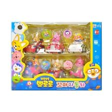 Pororo Mini Cars Toy Figures (6pcs set) (Loppy/Pororo/Eddy)