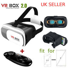 Reino Unido Stock Calidad Virtual Reality vr Caja 2 + Bluetooth Gamepad-Barato Samsung Gear