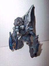 "Halo 3 Collection **BLACK GRUNT** 4"" Action Figure 100% Complete w/ Plasma Gun!!"