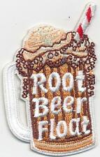 boy girl cub ROOT BEER FLOAT Fun Patches Crests Badges SCOUT GUIDES Ice Cream