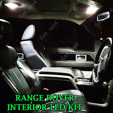 RANGE ROVER VOGUE L322 BRIGHT WHITE COMPLETE LED INTERIOR LIGHT UPGRADE SET