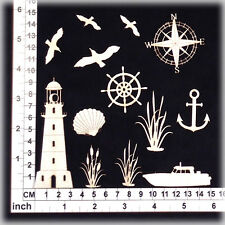Chipboard Embellishments for Scrapbooking, Cardmaking - Nautical Designs 41221