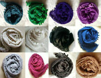 Fashionable Plain Bobble Maxi Hijab/Scarf - Many Colour Listing !! New