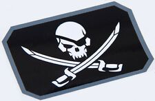 PIRATE SKULL FLAG TACTICAL MORALE MILITARY CAR VEHICLE WINDOW DECAL STICKER