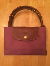 New Longchamp Le Pliage Medium Short Handle - Lilac (designer Color)