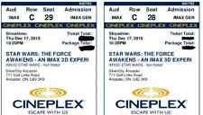 STAR WARS: The Force Awakens IMAX 3D Thurs Dec 17 10:20 pm