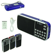 Portatile 16GB Mini Altoparlante MP3 Lettore Amplificatore Micro SD TF Radio FM
