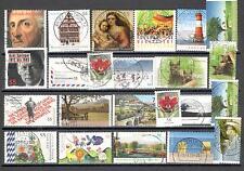 R7414 - GERMANIA 2012 - LOTTO 24 TEMATICI DIFFERENTI - VEDI FOTO