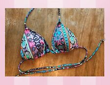 NEW Victoria's Secret Teeny Triangle Bikini Bathing Suit Top Small