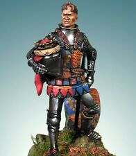 CRECY MODELS - CM501 - 54mm ENRICO V RE D'INGHILTERRA - AZINCOURT 1415 - NUOVO