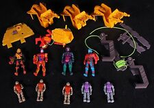 Air Raiders Sky Commanders 1980s Action Figure & Parts Toy Lot Free US Shipping