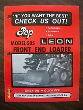 Vintage Original Leon's Co. Yorkton Saskatchewan Canada Model 505 Loader Flyer