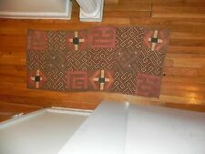 "Arts of Africa - Kuba Cloth - Congo - SM2 - 22"" x 49"""