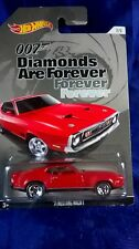 Hot Wheels James Bond '71 Mustang Mach 1 Diamonds Are Forever Red Rear Spoiler